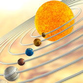 VR Earth in Solar System icon