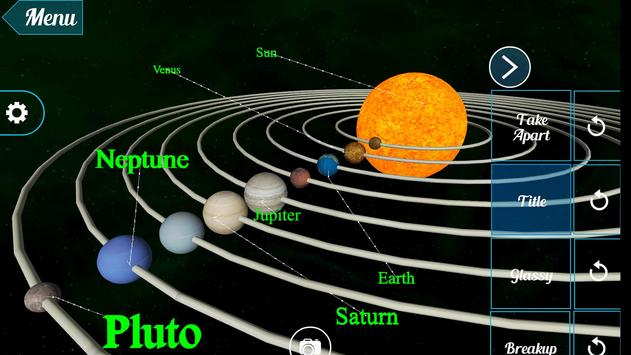 VR Earth in Solar System apk screenshot