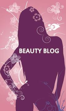 Beauty Blog poster
