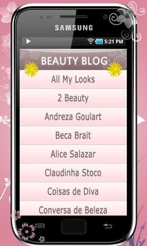 Beauty Blog apk screenshot