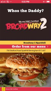 Broadway 2 Sparkhill poster