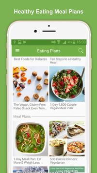 Healthy Eating Meal Plans poster