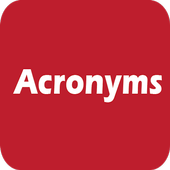 Acronyms icon