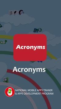 Acronyms apk screenshot