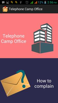 Telephone Camp office poster