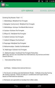 বাংলাদেশ সড়ক পরিবহন কর্পোরেশন apk screenshot