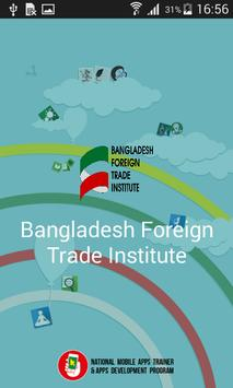 Foreign Trade Institute poster