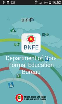 Non-Formal Education Bureau poster