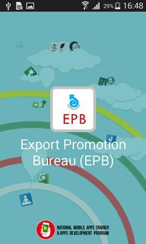 Export Promotion Bureau poster