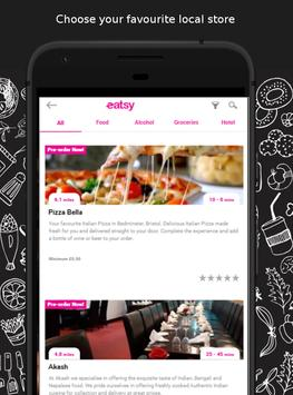 Eatsy - local food delivery & takeaway screenshot 1