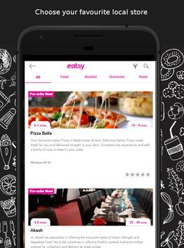 eatsy UK - local food delivery & takeaway screenshot 1