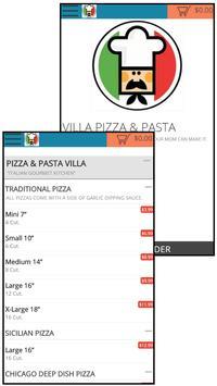PIZZA & PASTA VILLA apk screenshot