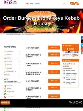 Keys Kebab House apk screenshot