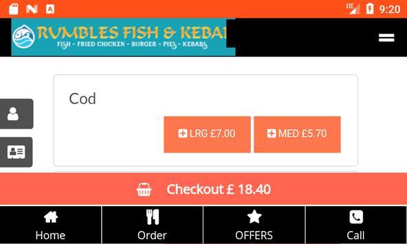 Rumbles Fish And Kebab screenshot 4