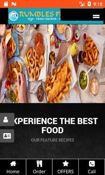 Rumbles Fish And Kebab poster