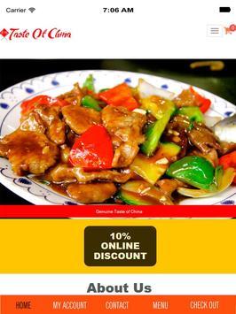 Taste of China apk screenshot