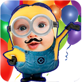 yellow minion face maker apk download - free photography app for ... - Minion Camera Apk