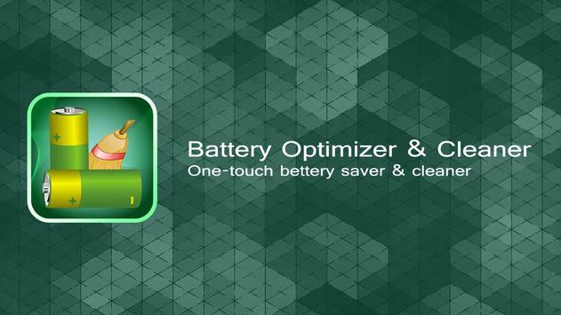 Battery Optimizer & Cleaner poster