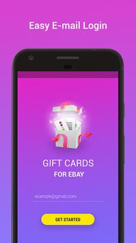 Coupons for Ebay - Free Gift Cards Generator poster