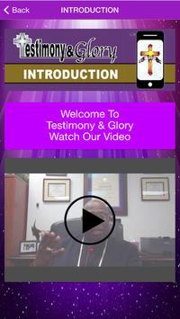 Testimony and Glory screenshot 1