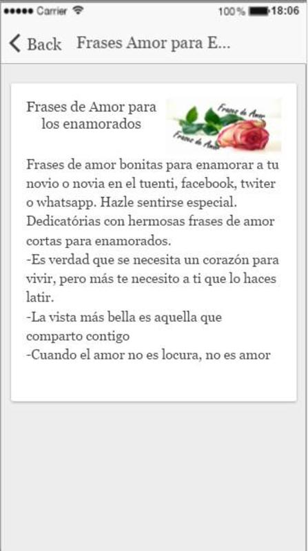 Frases Romanticas Y Frases De Amor For Android Apk Download