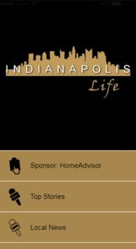 Indianapolis Life - Connecting Your Community 24/7 poster