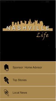 Nashville Life - Connecting Nashville 24/7 poster
