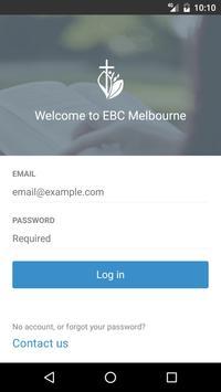 EBC Melbourne poster