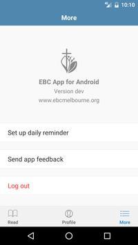 EBC Melbourne apk screenshot