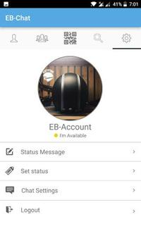 EB-Chat – For my Events apk screenshot