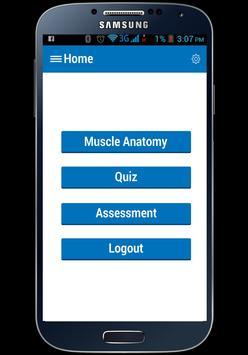 Muscle Anatomy apk screenshot