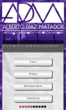 ADM Quiz poster