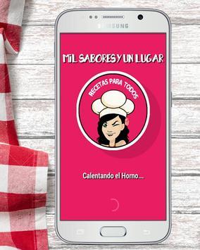 Recetas de Cocina Mil Sabores poster