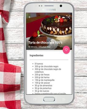 Recetas de Cocina Mil Sabores apk screenshot