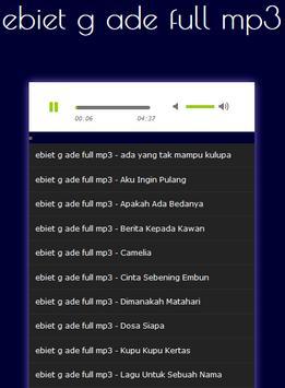 ebiet g ade full mp3 screenshot 9