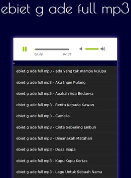 ebiet g ade full mp3 screenshot 1