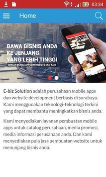 Ebiz Solution poster