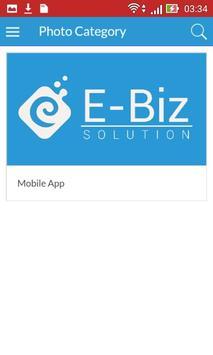 Ebiz Solution apk screenshot