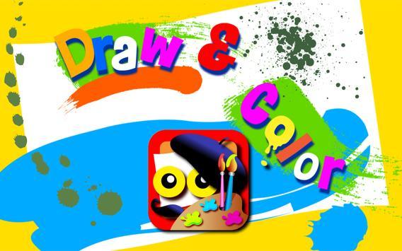 Wee Kids Draw&Color Free apk screenshot