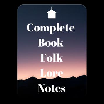 Complete Book Folk Lore Notes poster