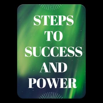 Steps To Success And Power ebook and audio book poster