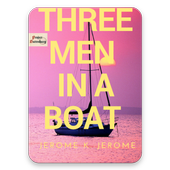 Three Men in a Boat by Jerome K. Jerome Free ebook icon