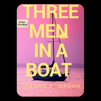 Three Men in a Boat by Jerome K. Jerome Free ebook poster