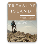 Treasure Island by Robert Louis Stevenson icon