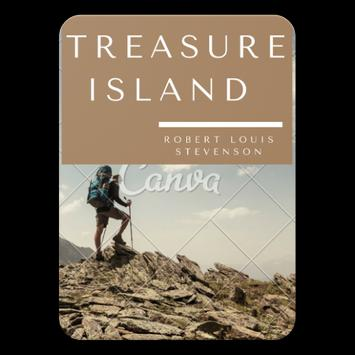 Treasure Island by Robert Louis Stevenson poster