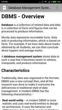Database Management System screenshot 1