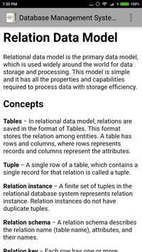 Database Management System screenshot 2
