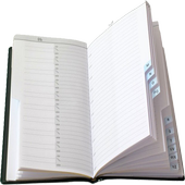 Notepad A/Z icon
