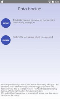 Notepad A/Z apk screenshot
