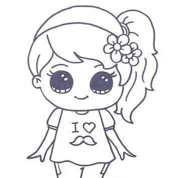 How To Draw Cute Girl For Android Apk Download